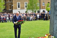 Wreath laying ceremony on 70th anniversary of the Victory Day_5