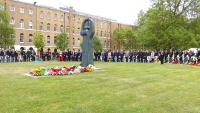 Wreath laying ceremony in honor of Victory Day