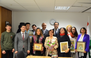 Event devoted to the development of miniature art in Tajikistan
