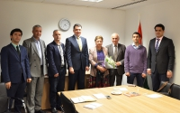 Meeting on the prospects of joint scientific research in literature and anthropology in Tajikistan and the United Kingdom