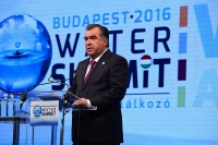 Tajikistan delegation participation in the Budapest Water Summit