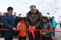 "Ski in Tajikistan this season!!! Launch ceremony of the ski complex ""Safed Dara""!"