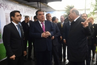 Stone-laying ceremony for construction of Tajik-British International School