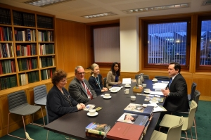 Meeting at the British Library