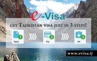 Tajikistan introduced electronic visa for foreign travellers