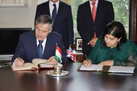 Tajikistan Minister of Foreign Affairs Mr.Sirojidin Aslov pays official visit to the UK