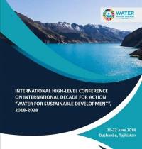 "High Level Conference International Decade for Action ""Water for Sustainable Development"", 2018-2028"